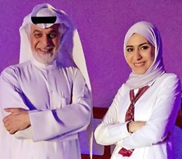 GBA owner Muhammad AlAli and daughter Mariam