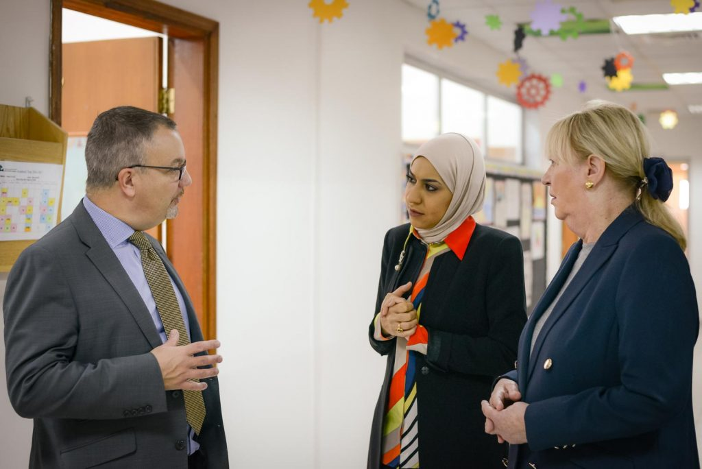 British Ambassador takes tour around GBA