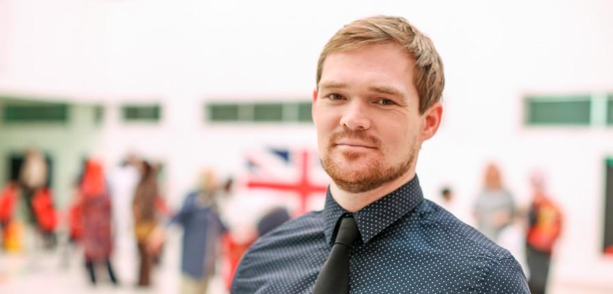 Mr Alex at Gulf British Academy - raising attainment