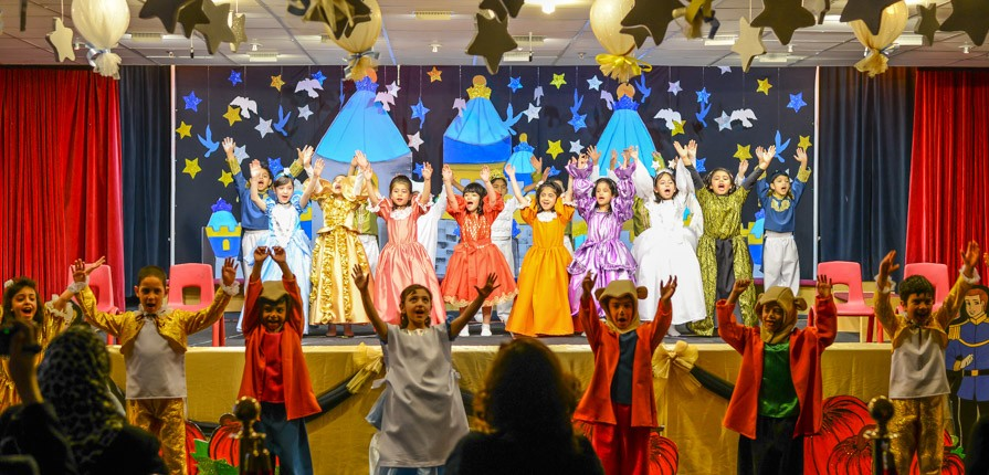 Gulf British Academy's Year 1 classes perform Cinderella productions