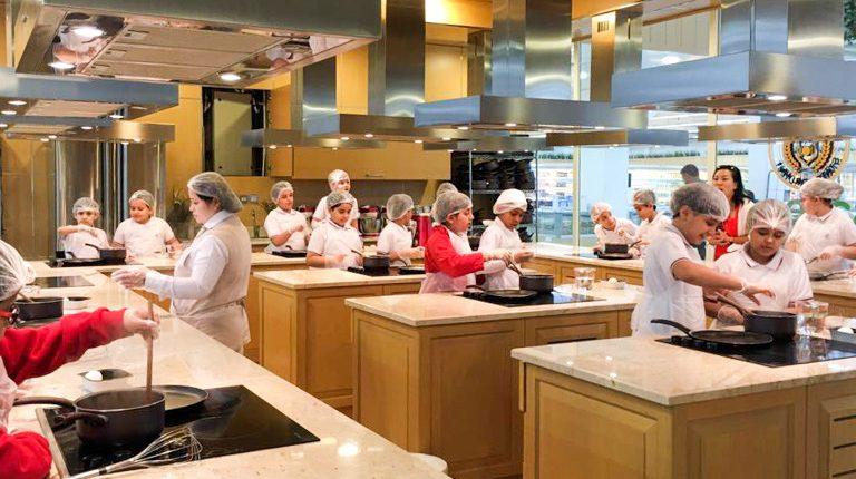 Trip to The Food Academy - Gulf British Academy