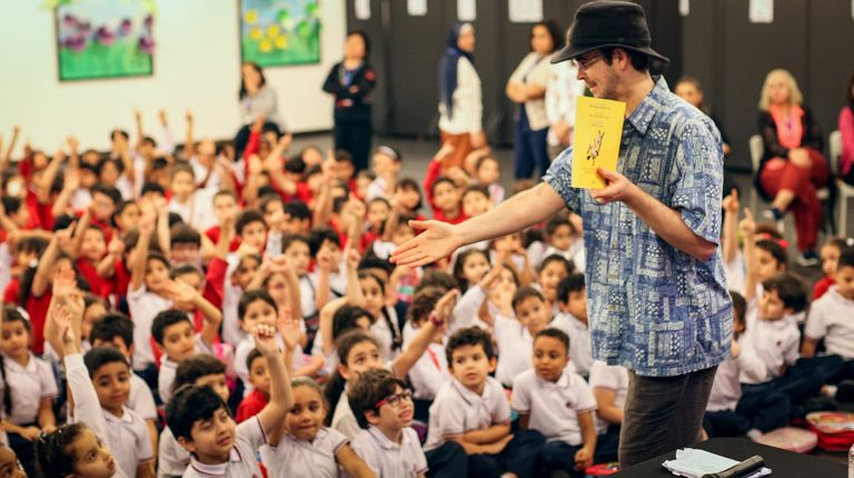 David Bedford visits Gulf British Academy