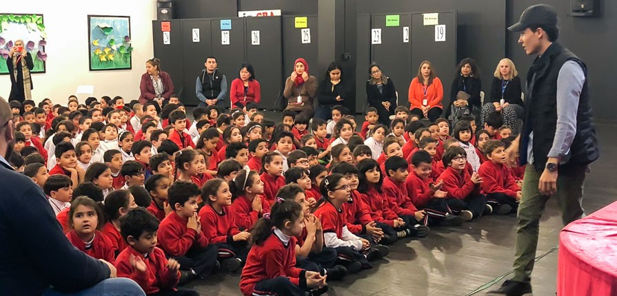Anti-bullying play - Gulf British Academy