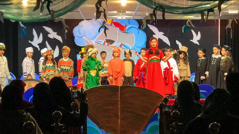 Year 2 Production - Around the World with Captain Toby