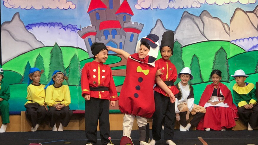 Character Matters - Year 1 Production | Gulf British Academy