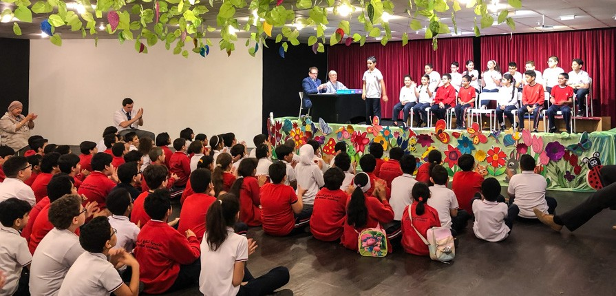 Spelling Bee 2018 - KS2 - Gulf British Academy