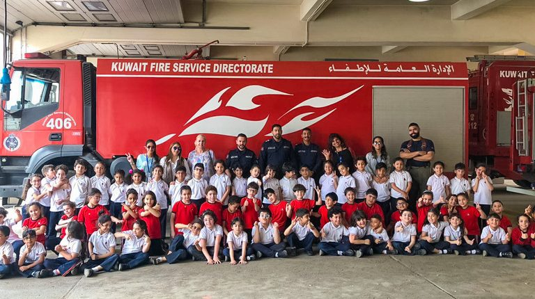 Fire Station KS1 trip - Gulf British Academy