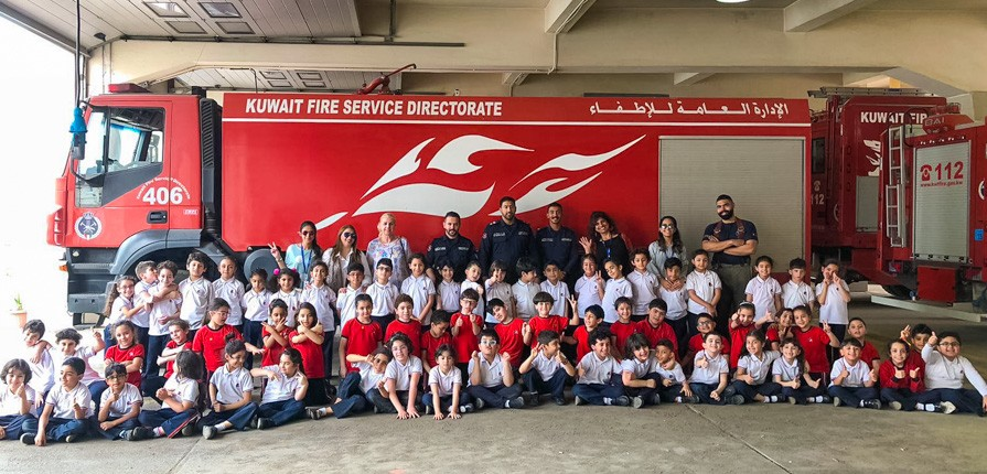 Fire Station KS1 trip - Gulf British Academy