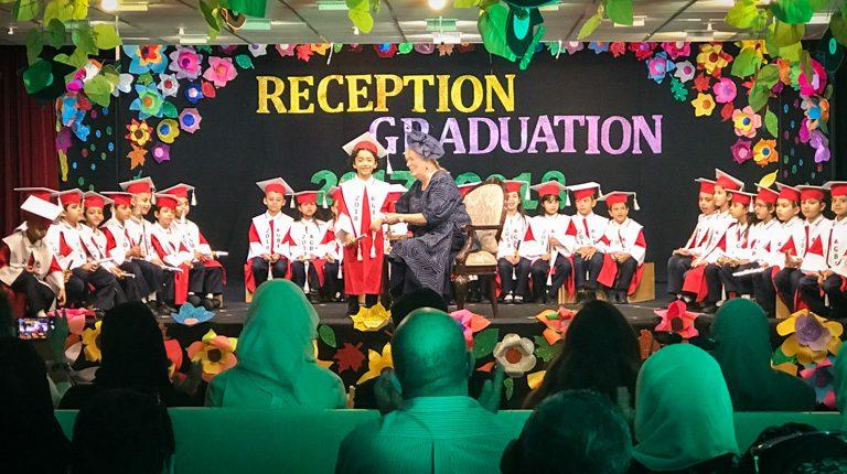 Reception Graduation 2018 - Gulf British Academy