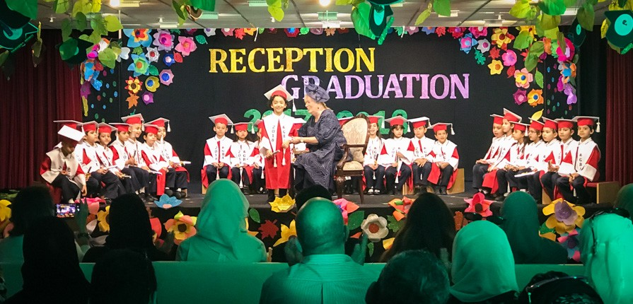 Reception Graduation 2018 - Gulf British Academy