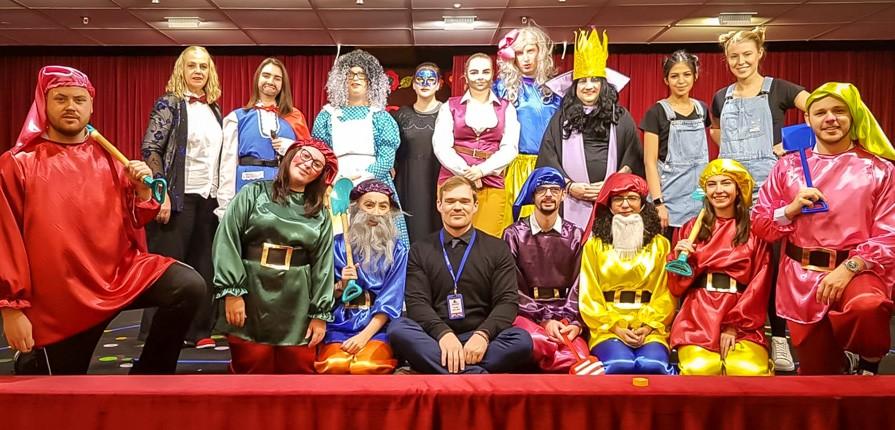 Staff Pantomime 2018 - Gulf British Academy