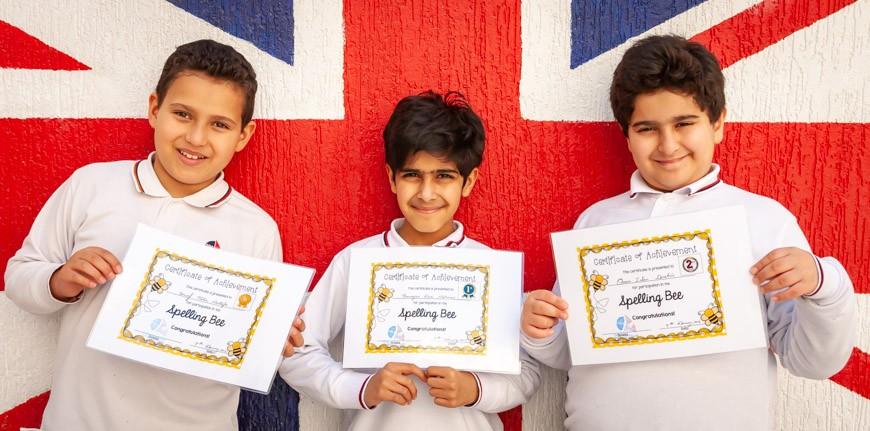 Spelling Bee 2019 - Upper Key Stage 2 Winners