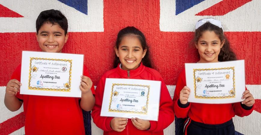 Spelling Bee 2019 - Lower Key Stage 2 Winners