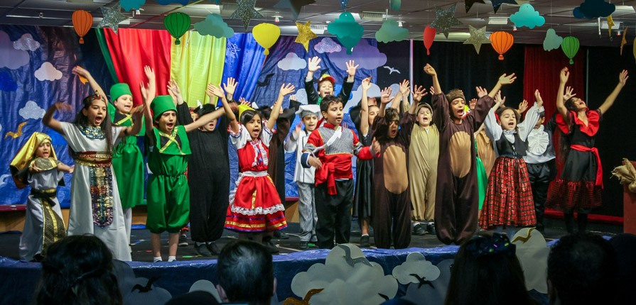Year 2 Productions - Ballooning Around the World