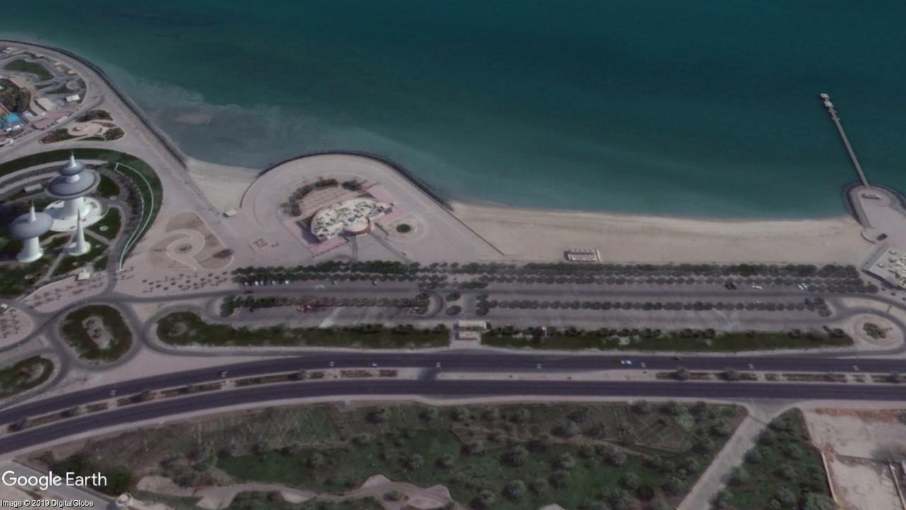 Kuwait Towers Beaches - Gulf British Academy clean up challenge