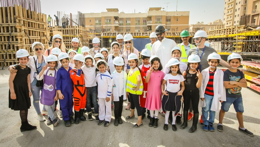 Year 3 Red at GBA's new school site